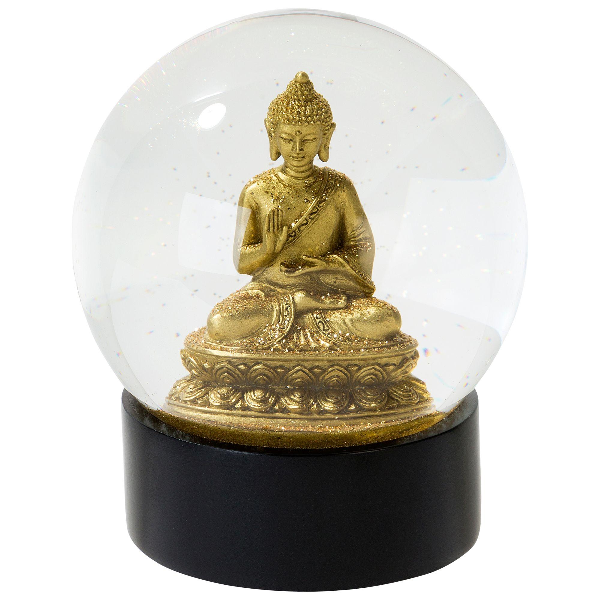 Talking Tables Talking Tables Buddha Snow Globe