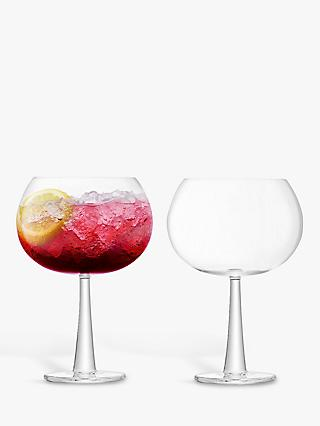 LSA International Gin Grand Balloon Glass, 690ml, Set of 2, Clear