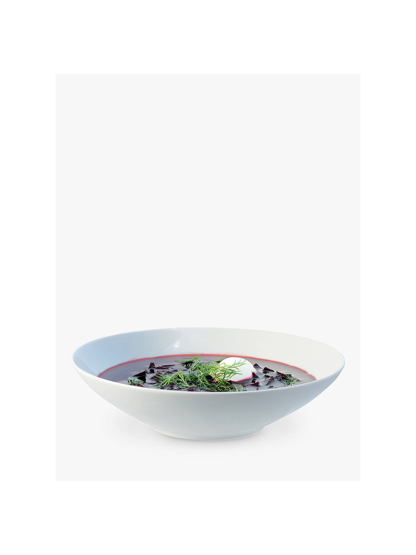 BuyLSA International Dine Bowls, Dia.24cm, White, Set of 4 Online at johnlewis.com