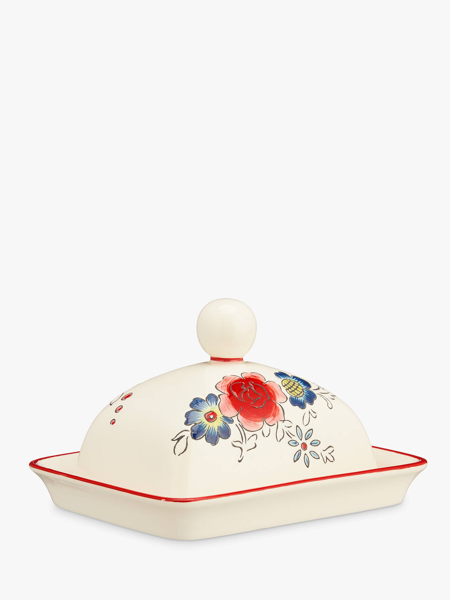 5ef21a7ea8 BuyMolly Hatch Flower Butter Dish