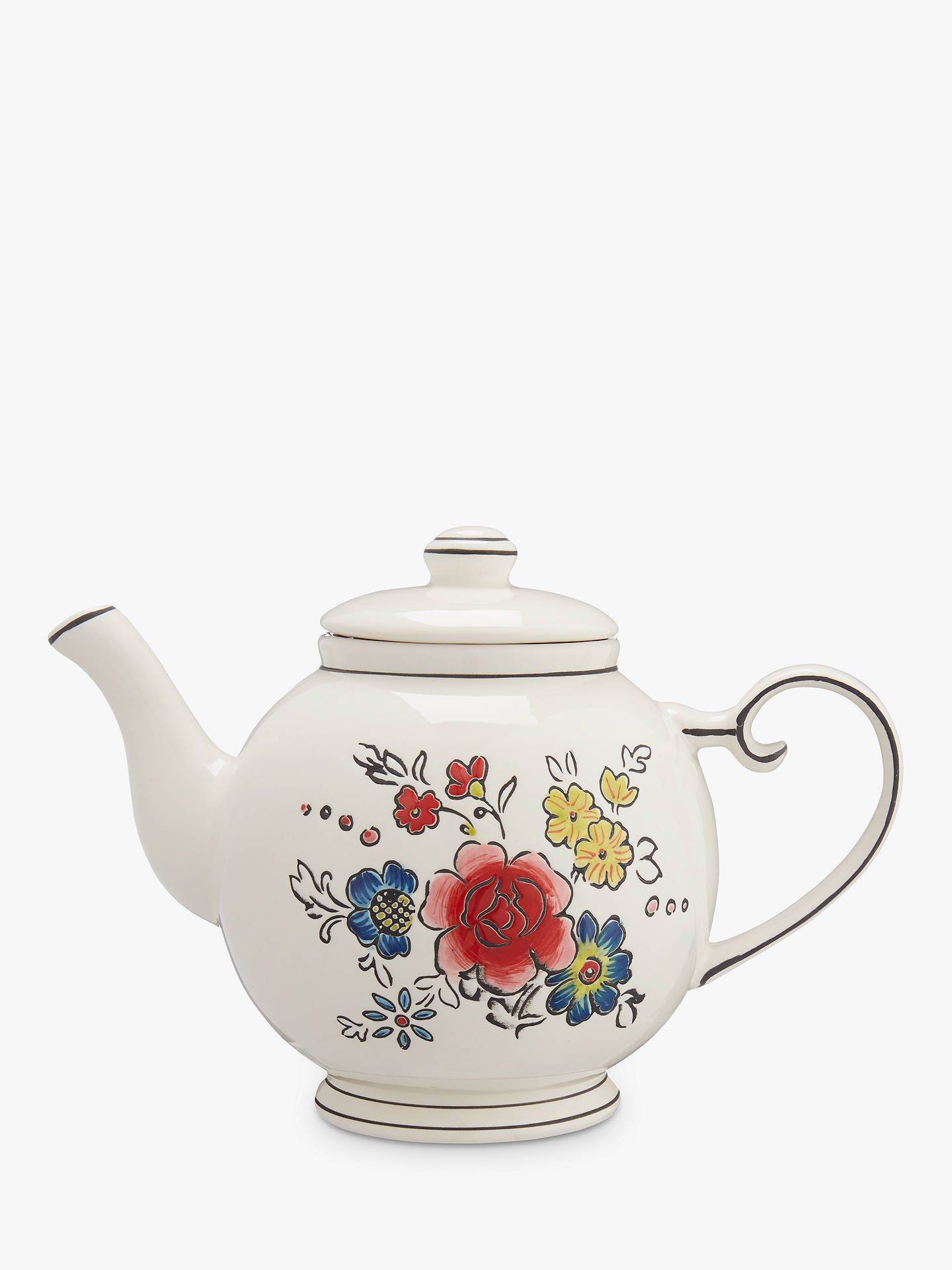 5bbb22d244 BuyMolly Hatch Flower Patch 4 Cup Teapot