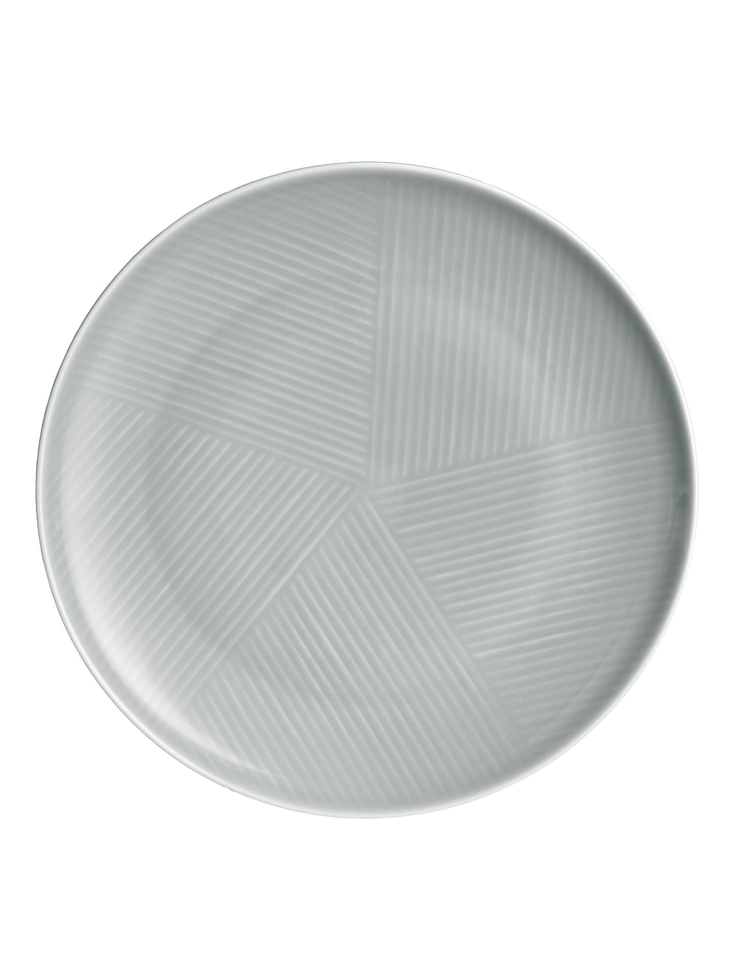 Buy Design Project by John Lewis No.098 Coupe 23cm Plate, Grey Online at johnlewis.com