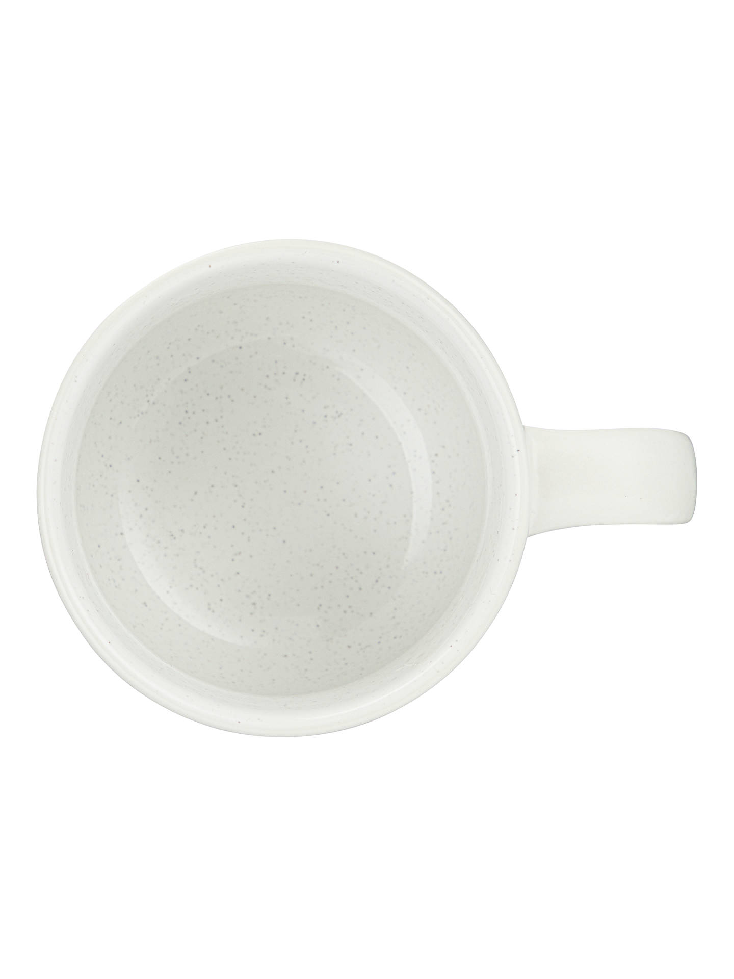 BuyJohn Lewis & Partners Glaze Speckle Mug, 300ml, White Online at johnlewis.com