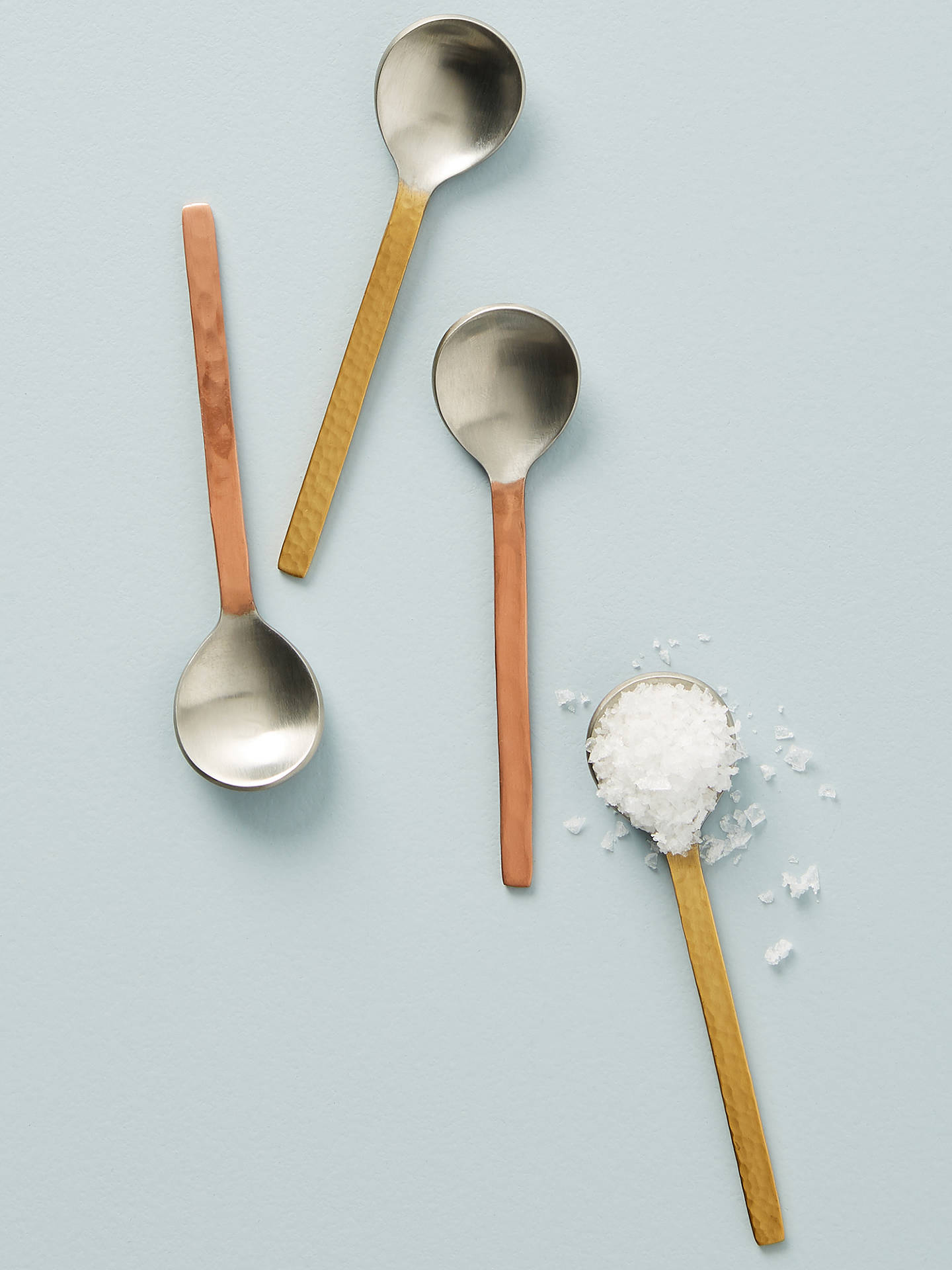 Buy Anthropologie Caru Condiment Spoons, Set of 4, L11cm Online at johnlewis.com