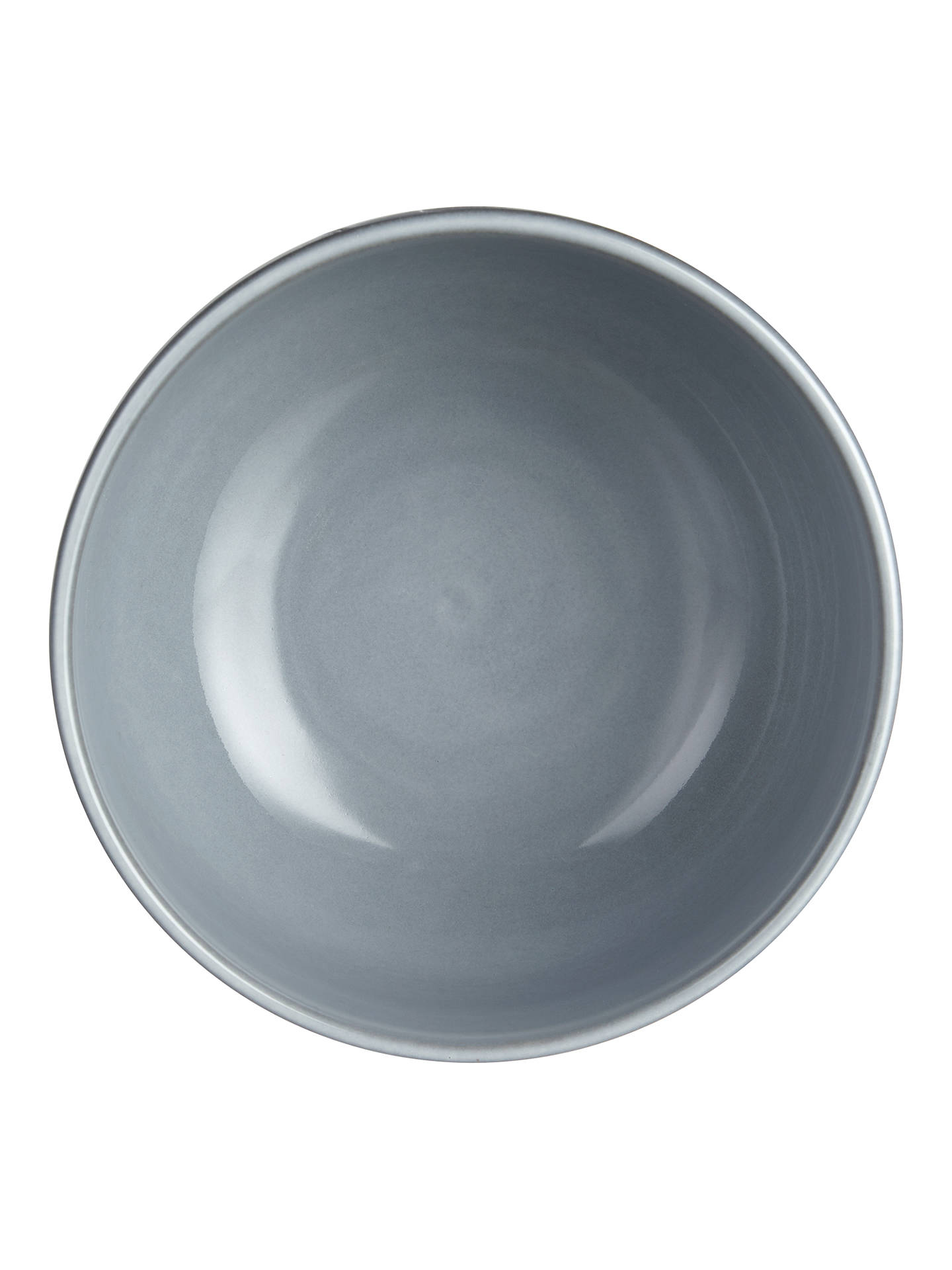 Buy John Lewis & Partners Glaze Double Noodle / Serving Bowl, Dia.16.5cm, Blue Online at johnlewis.com