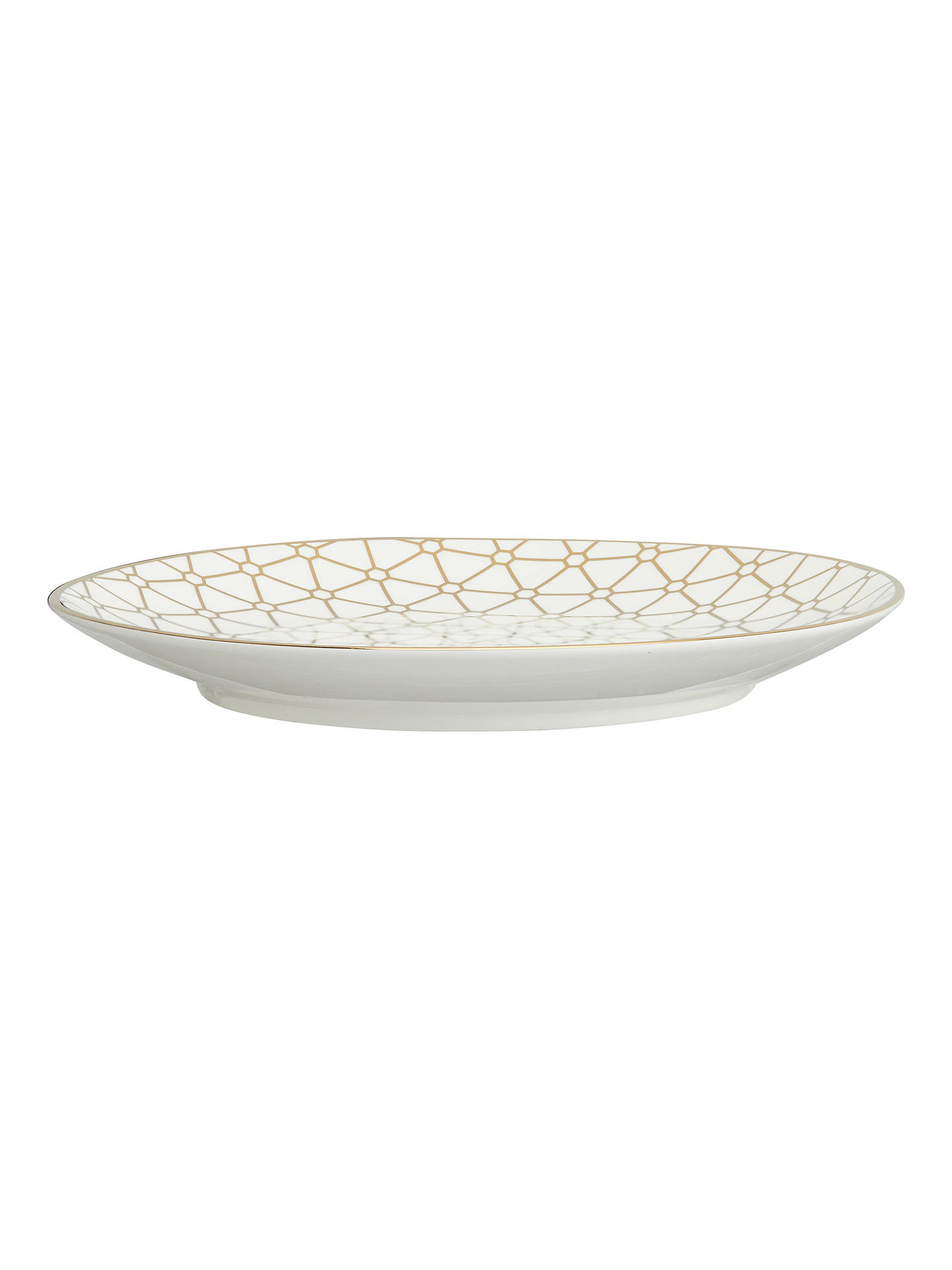BuyJohn Lewis & Partners Gold Decorated Small Plates, Set of 4, Assorted Online at johnlewis.com