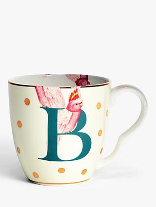 Yvonne Ellen Alphabet Mug, 280ml, Multi