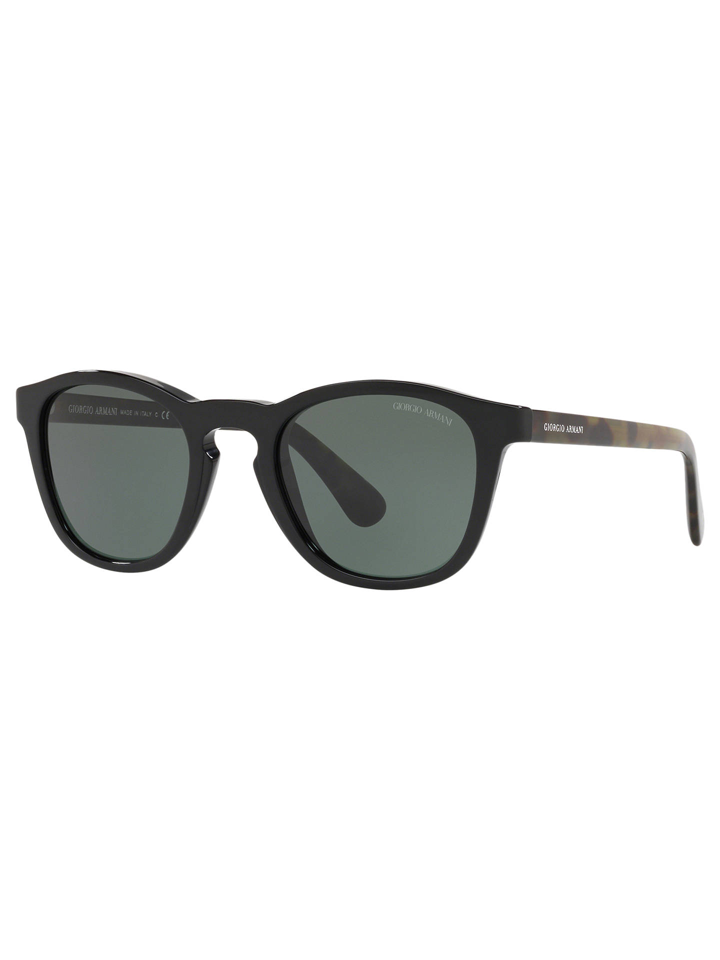 bcc28bb6b01b Giorgio Armani AR8112 Men s D-Frame Sunglasses at John Lewis   Partners