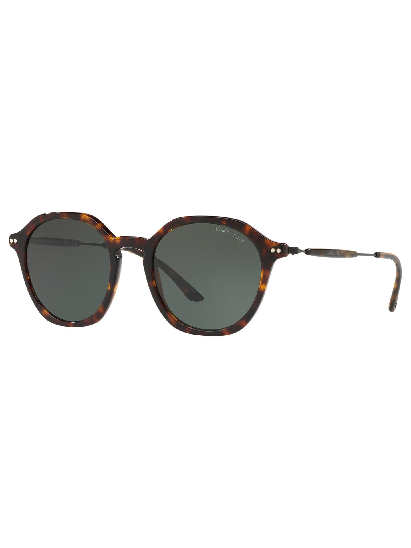 ff14a42c58b Giorgio Armani AR8109 Men s Oval Sunglasses at John Lewis   Partners