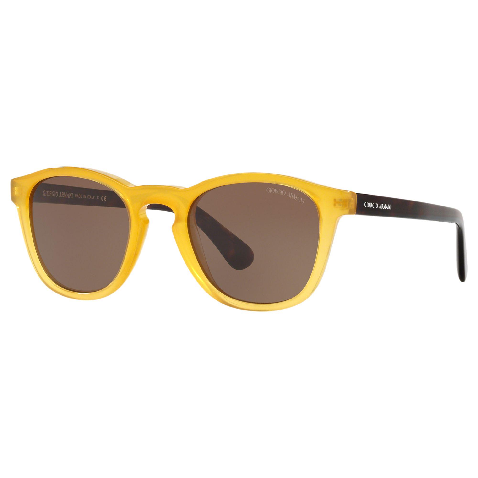 Giorgio Armani Giorgio Armani AR8112 Men's D-Frame Sunglasses