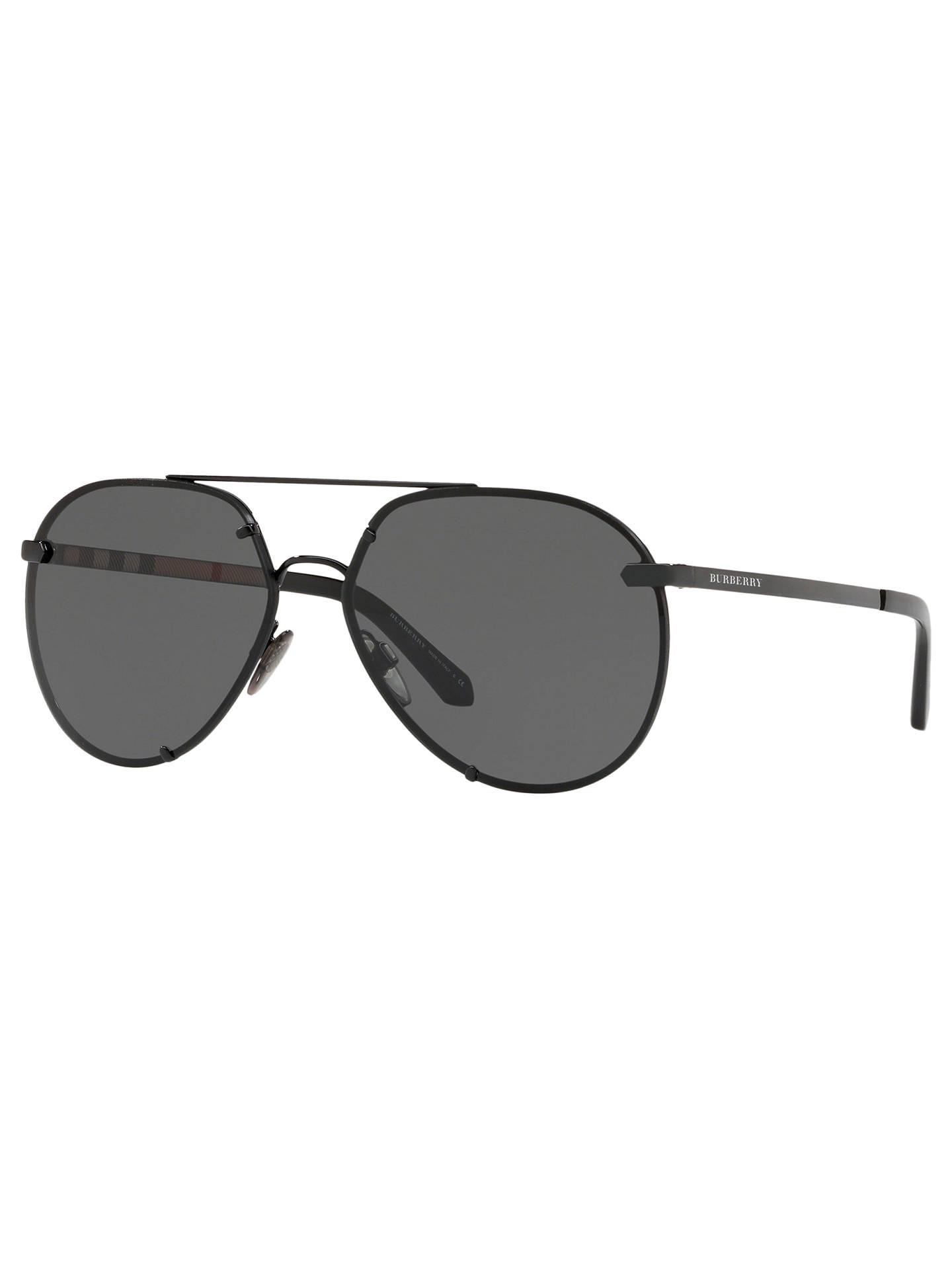 fa26b078c86 Burberry BE3099 Women s Aviator Sunglasses at John Lewis   Partners
