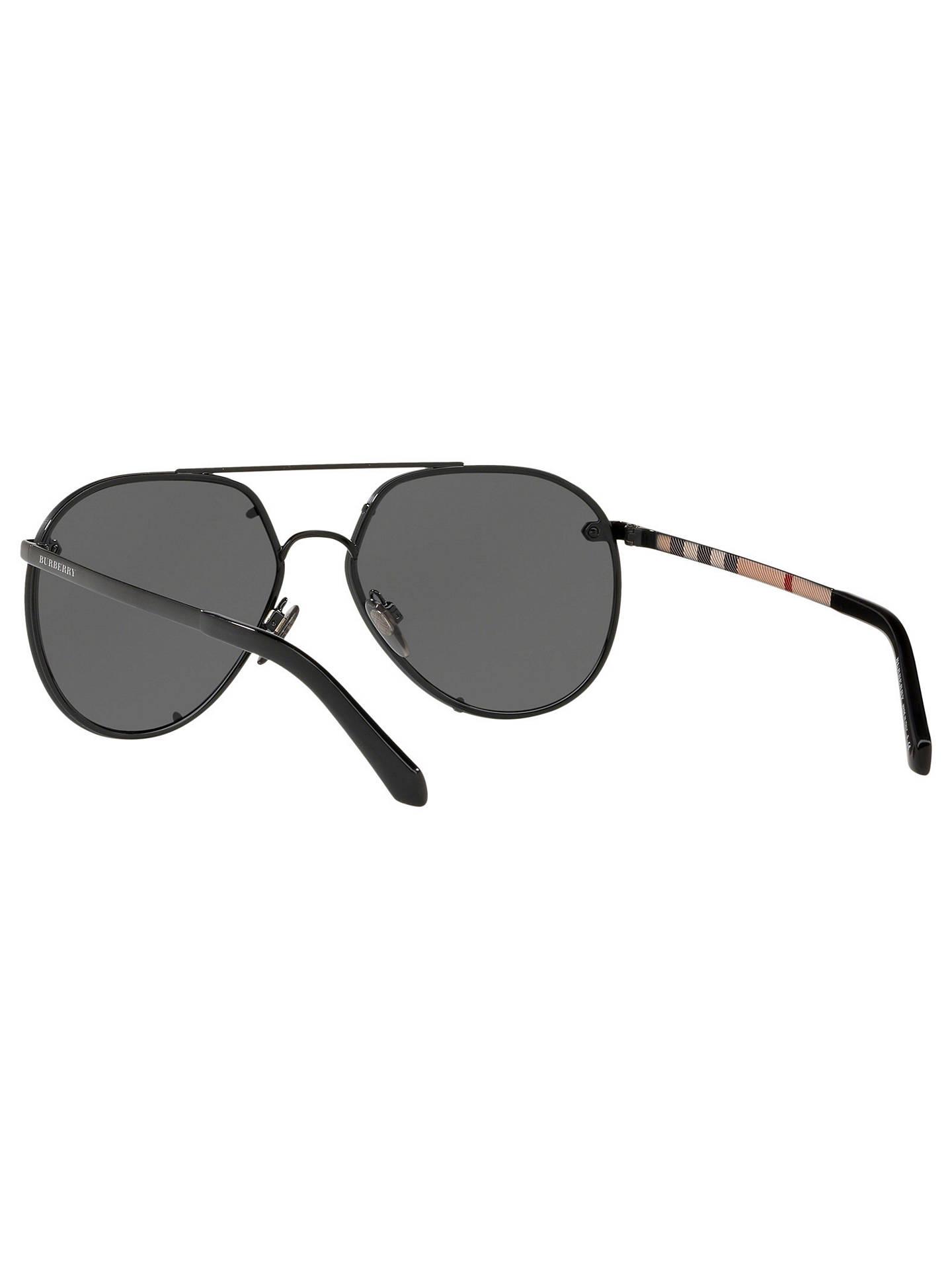 3e7b13299d Burberry BE3099 Women s Aviator Sunglasses at John Lewis   Partners