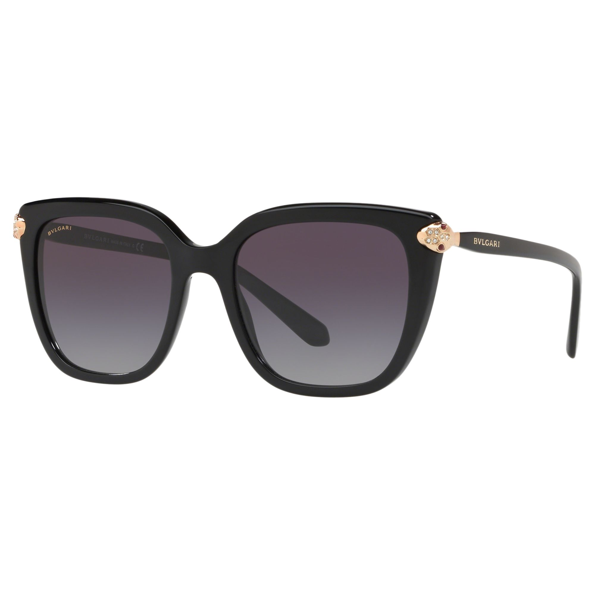 Bvlgari BVLGARI BV8207B Women's Embellished Square Sunglasses