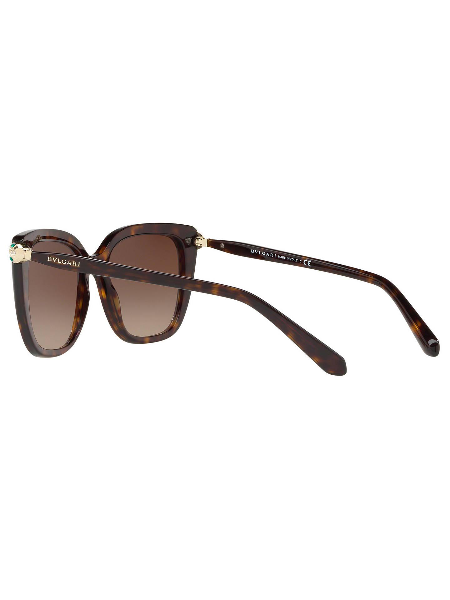 312e2ff7d6 BVLGARI BV8207B Women s Embellished Square Sunglasses at John Lewis ...