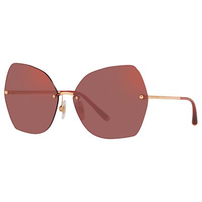 Dolce & Gabbana DG2204 Women's Geometric Sunglasses