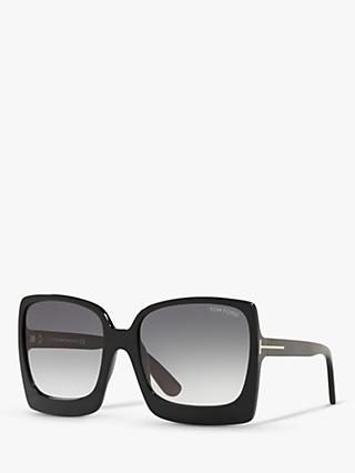 9838f40007f1 TOM FORD FT0617 Women s Katrine-02 Oversized Square Sunglasses