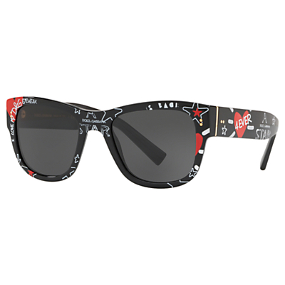 dolce & gabbana dg4338 men's square frame sunglasses