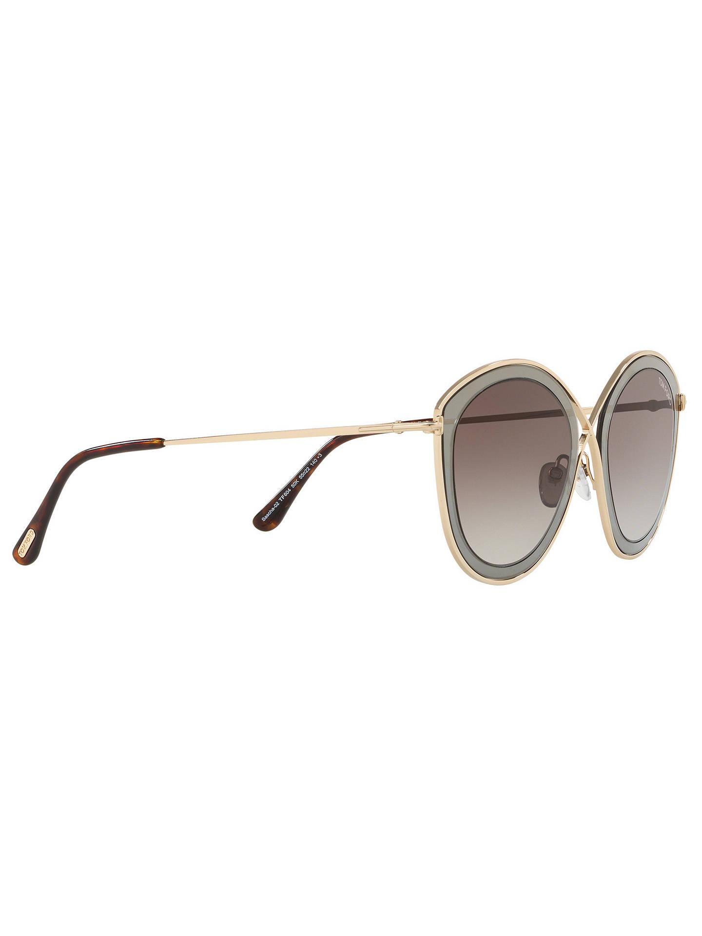 Sascha Cat's Women's Gradient Tom Ft0604 Eye SunglassesGoldbrown Ford hQdCxtsr