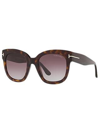 8e591afa5ca4 TOM FORD FT0613 Women s Beatrix-02 Square Sunglasses