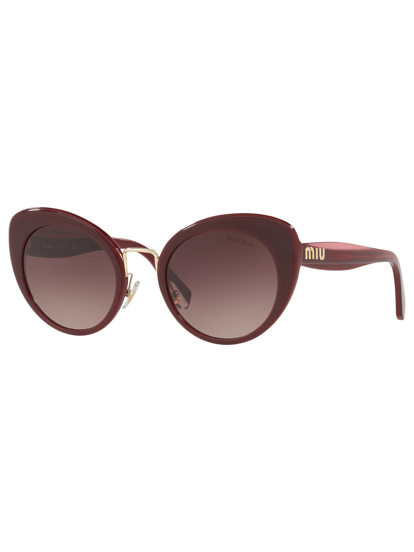 9394b7b0ac2 Buy Miu Miu MU 06TS Women s Cat s Eye Sunglasses
