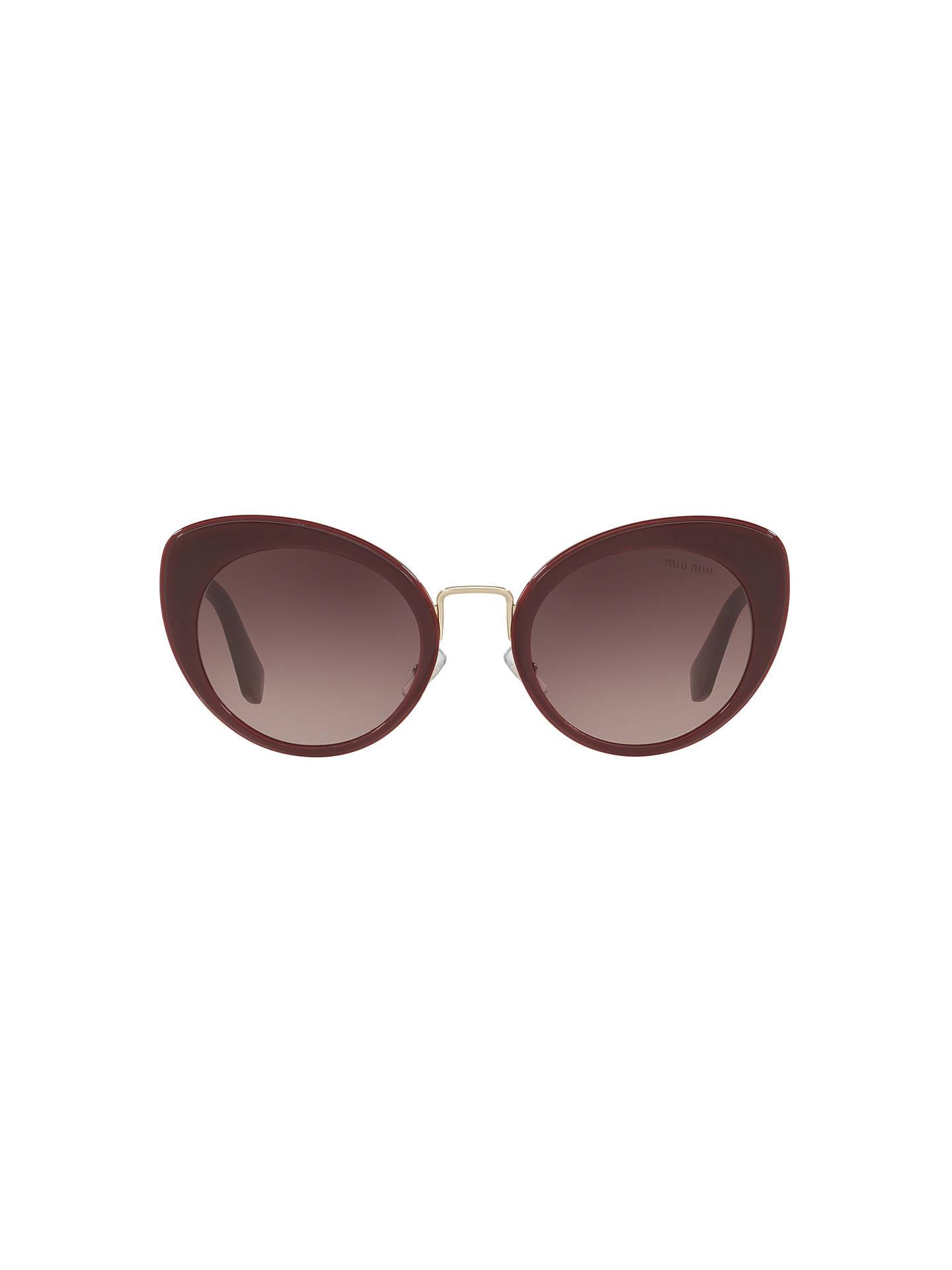 cebe3138658 ... Buy Miu Miu MU 06TS Women s Cat s Eye Sunglasses