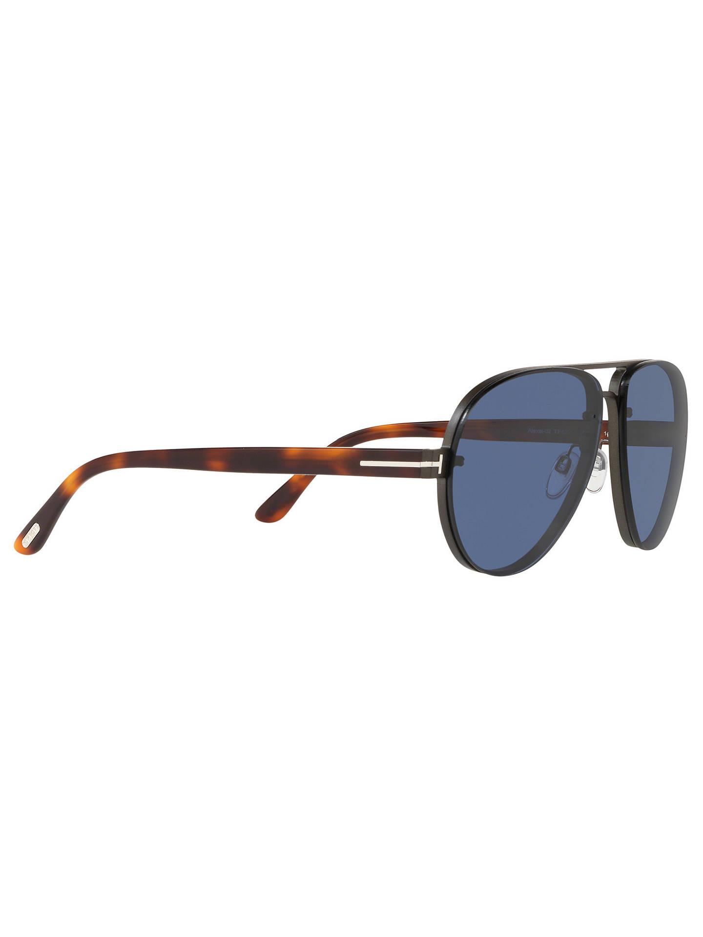 e512eeb697b71 TOM FORD FT0622 Men s Alexei-02 Aviator Sunglasses at John Lewis ...