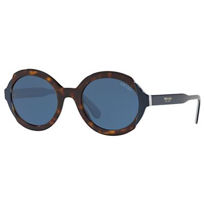 Prada 17US Women's Oval Sunglasses