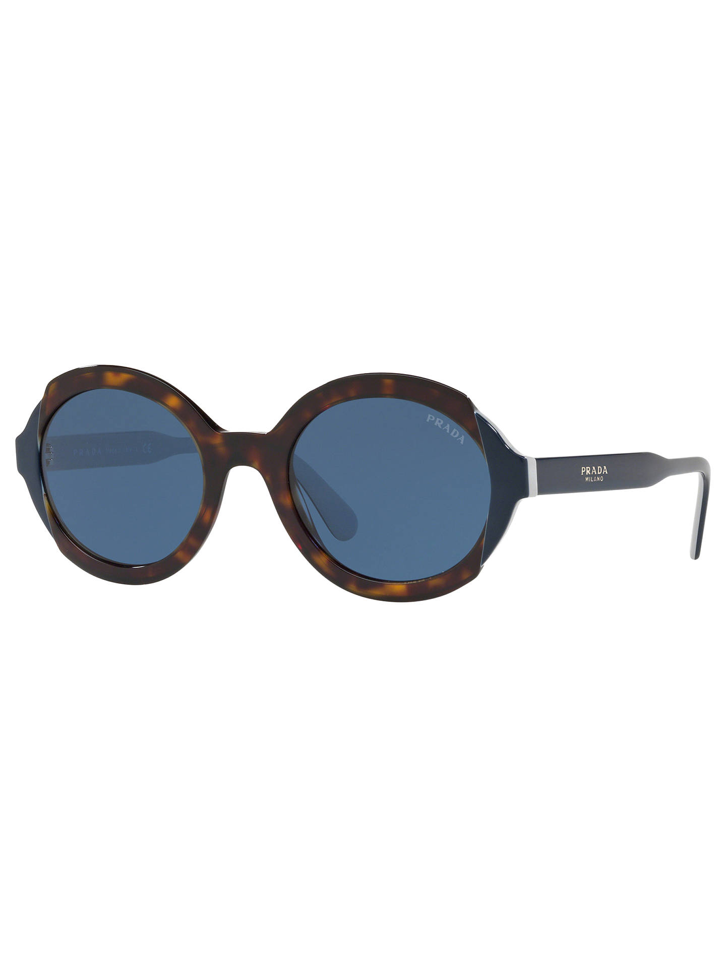 4e4bd81b1b940 Prada 17US Women s Oval Sunglasses at John Lewis   Partners