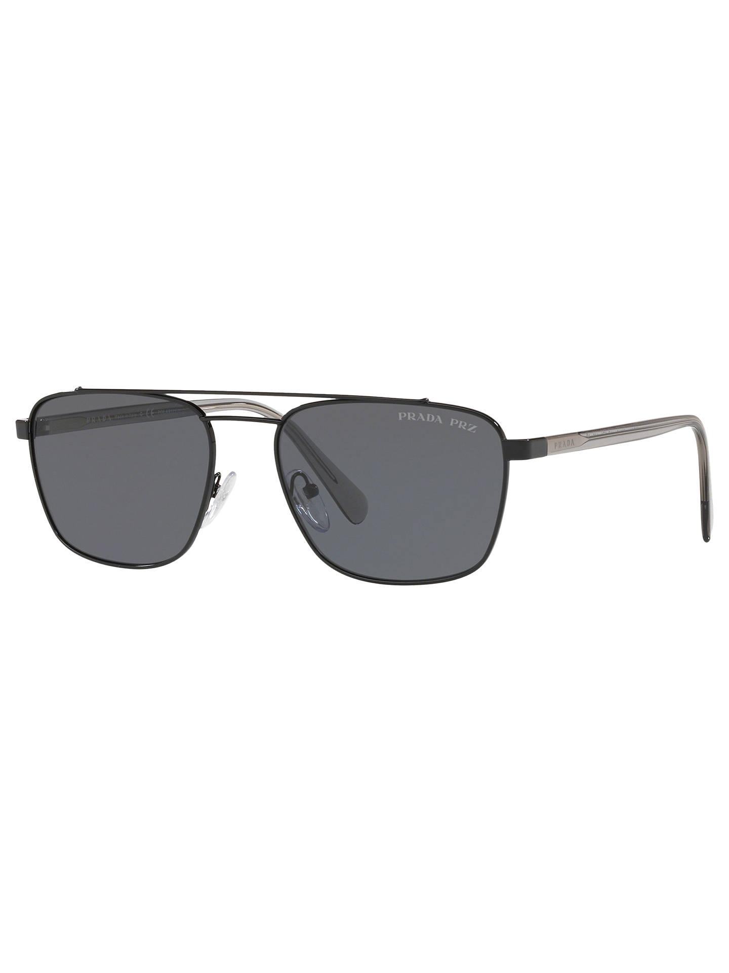 0ca2d8bba0c Buy Prada PR 61US Men s Polarised Square Sunglasses