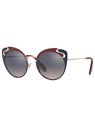 Miu Miu MU 57TS Women's Cat's Eye Sunglasses