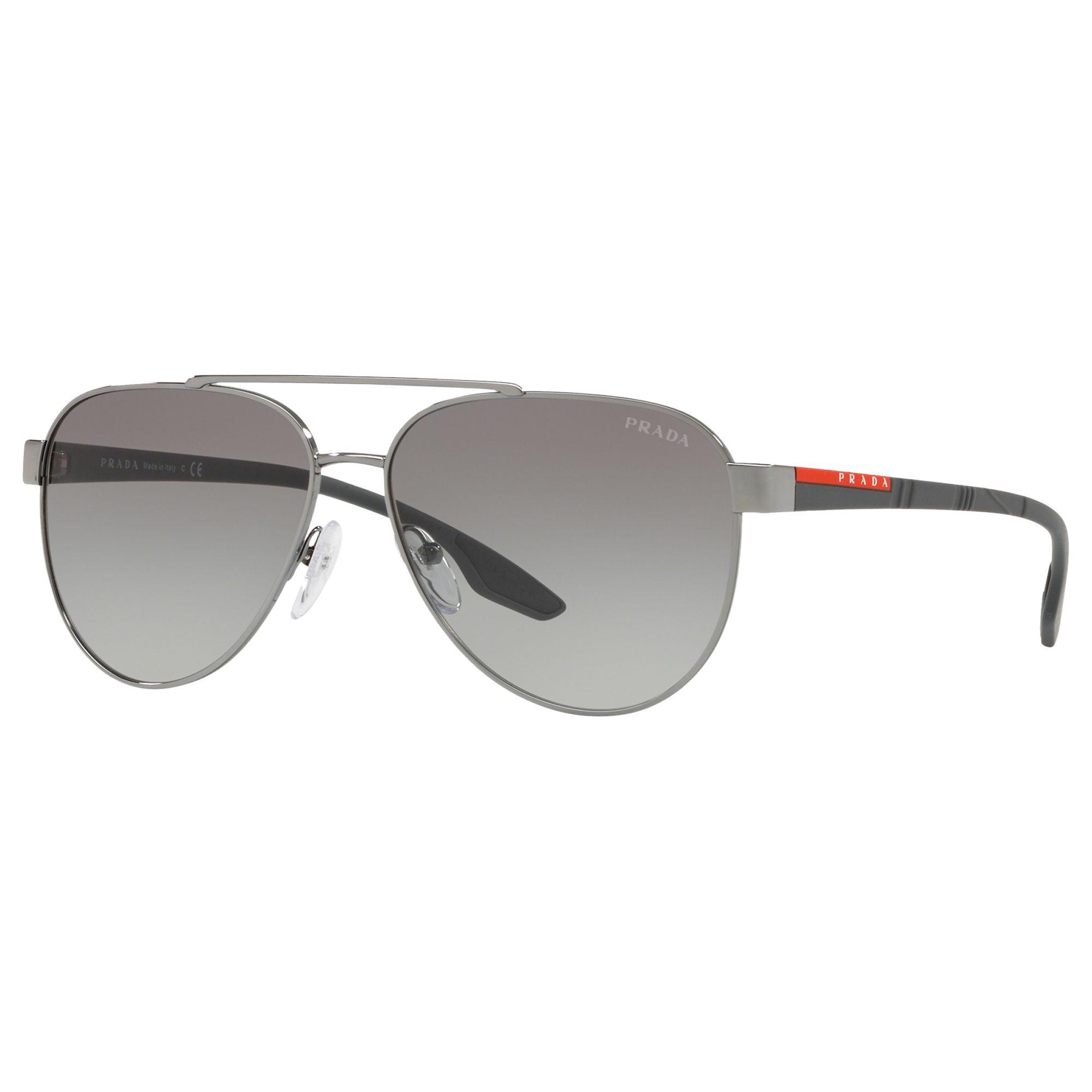 7f615f18195 ... 50% off prada linea rossa ps 54ts mens aviator sunglasses gunmetal grey  gradient at john