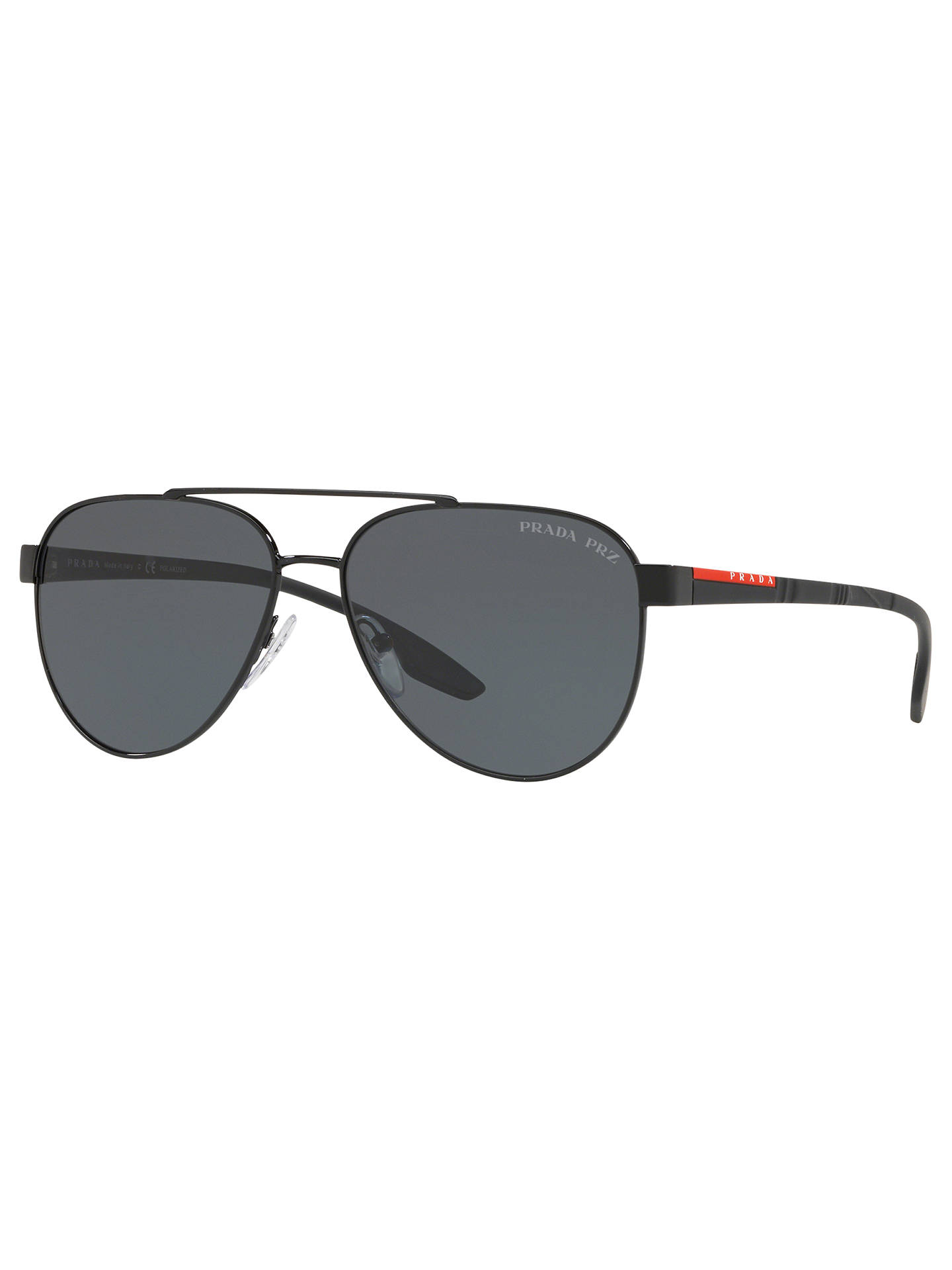 a74e4ed428 Prada Linea Rossa PS 54TS Men s Polarised Aviator Sunglasses at John ...
