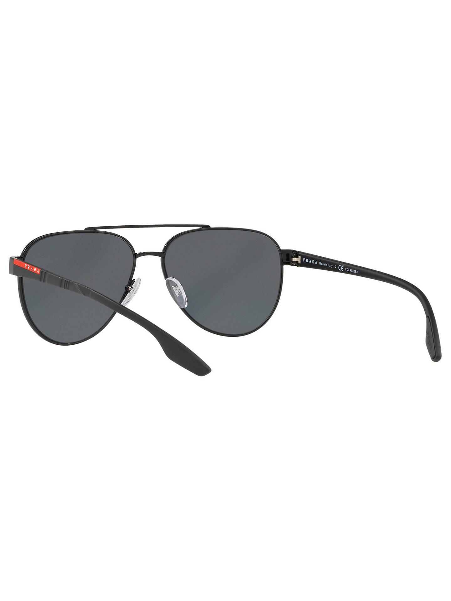 d1a2b7ebd901 Prada Linea Rossa PS 54TS Men s Polarised Aviator Sunglasses at John ...
