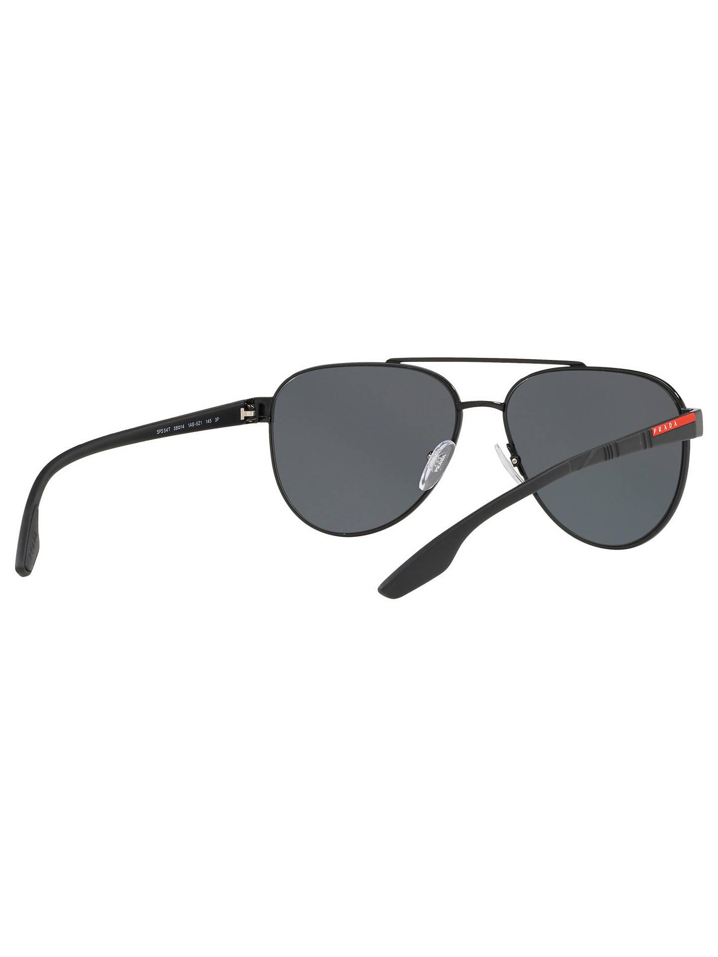 c425aaf6e12 Prada Linea Rossa PS 54TS Men s Polarised Aviator Sunglasses at John ...