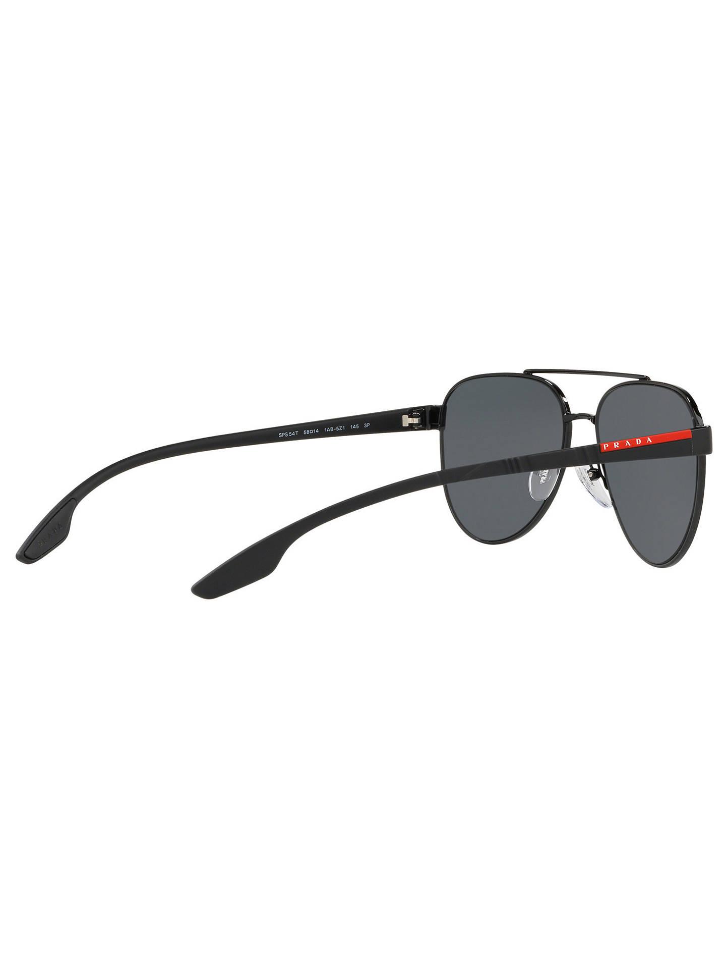 89539c3746eec Prada Linea Rossa PS 54TS Men s Polarised Aviator Sunglasses at John ...