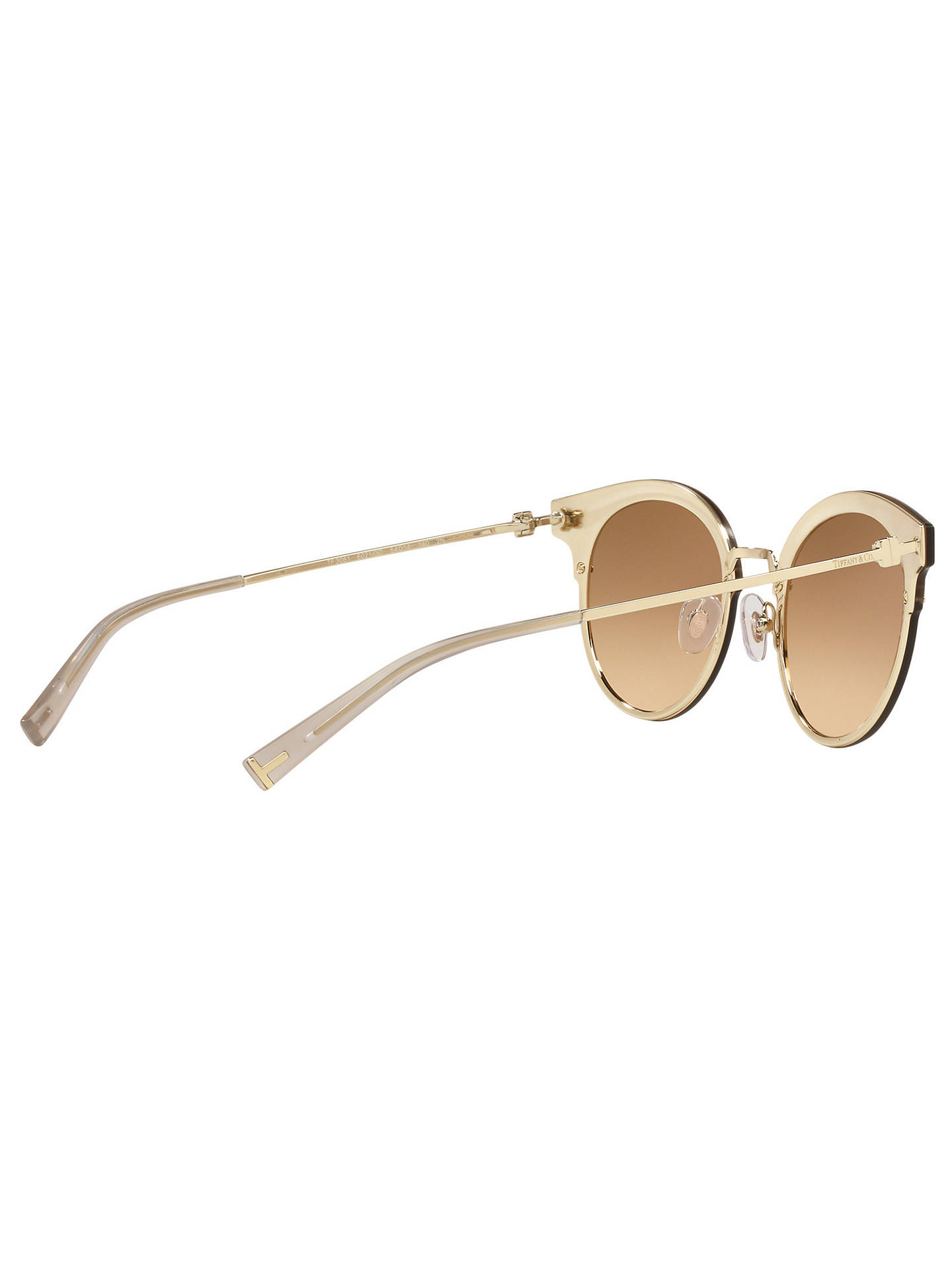 a30b163caea9 Tiffany   Co TF3049B Women s Round Sunglasses at John Lewis   Partners