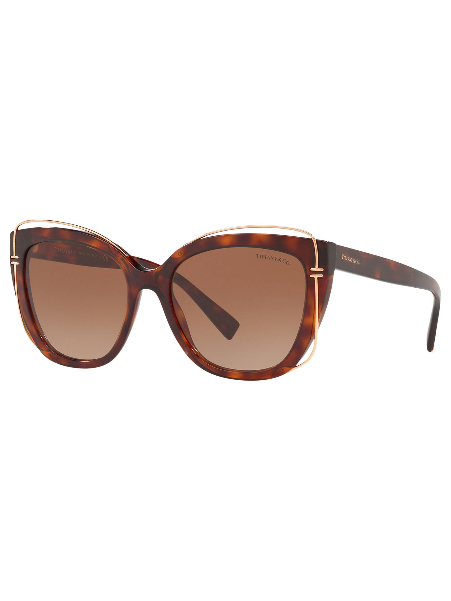 24b7574697632 Tiffany   Co TF4148 Women s Cat s Eye Sunglasses at John Lewis ...
