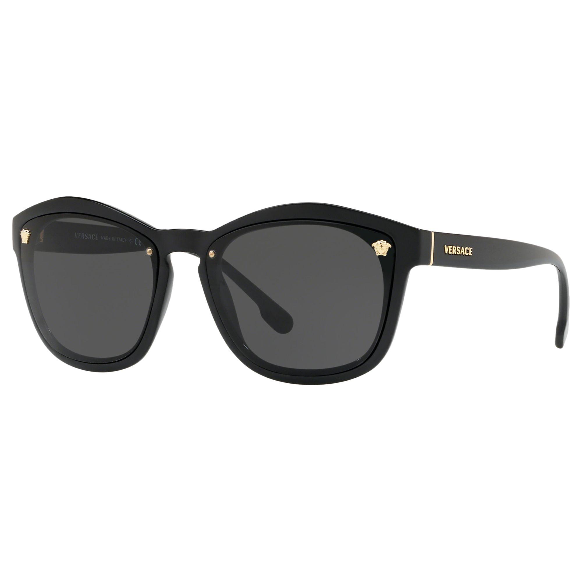 Versace Versace VE4350 Women's Sunglasses, Black/Grey