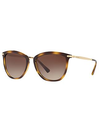 Ralph RA5245 Women's Cat's Eye Sunglasses, Tortoise/Brown Gradient