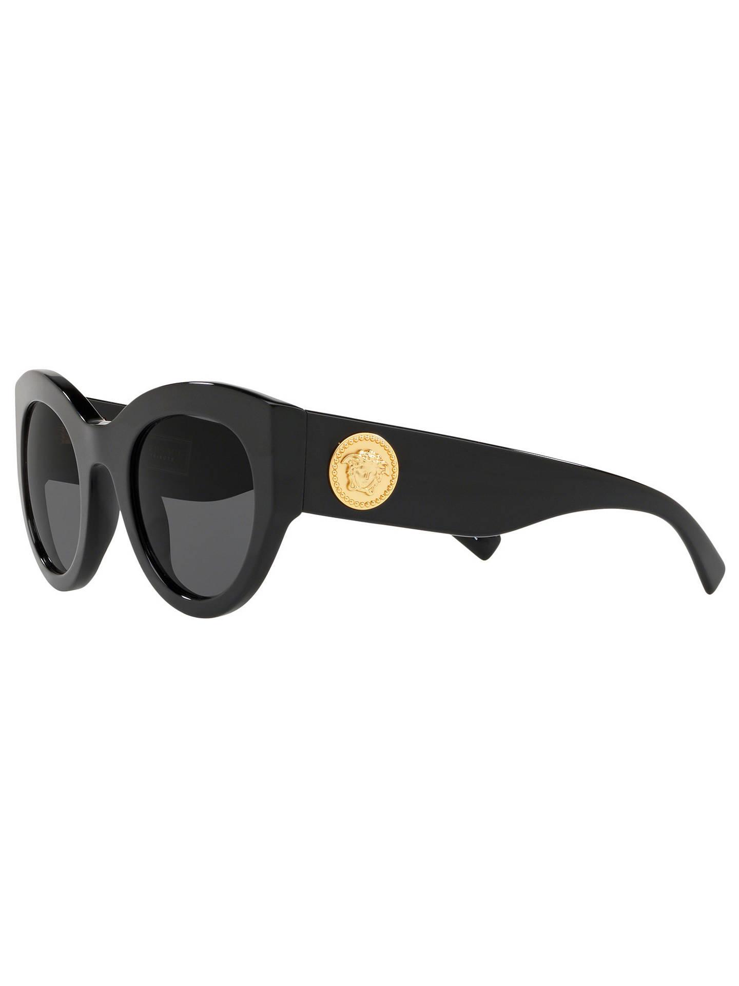 ad0c94dfbba Versace VE4353 Women s Cat s Eye Sunglasses at John Lewis   Partners