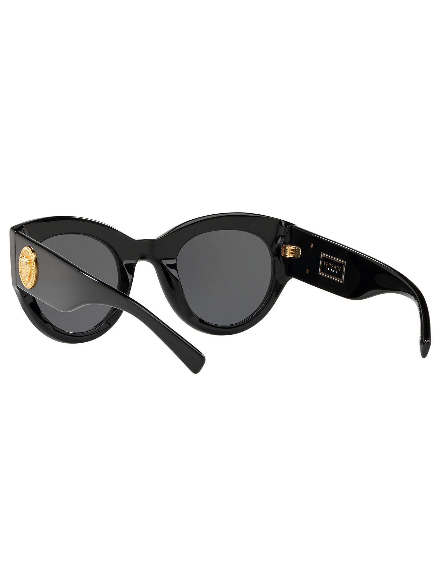 f5d9098ec2 Versace VE4353 Women s Cat s Eye Sunglasses at John Lewis   Partners