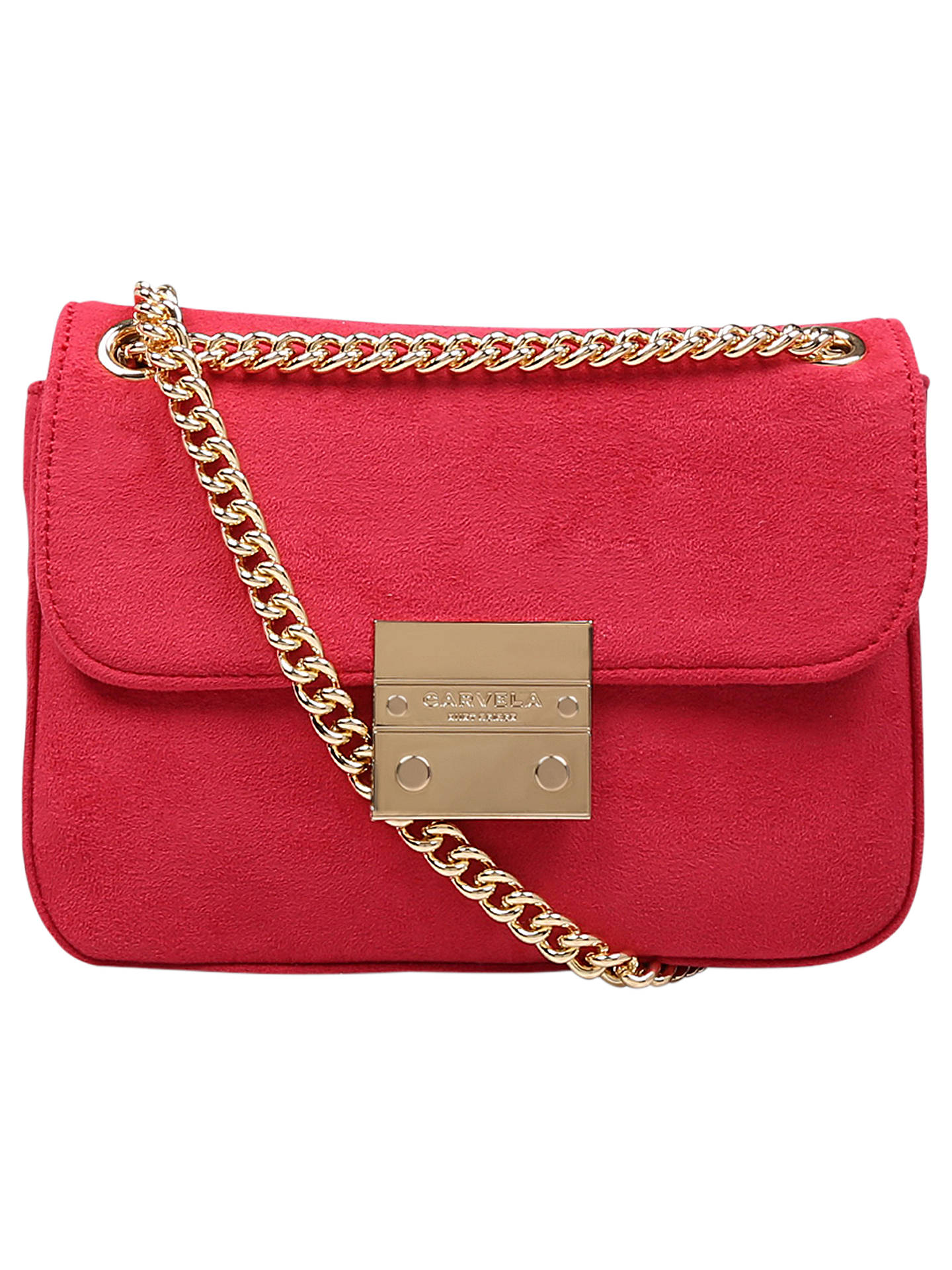 BuyCarvela Grappa Clutch Bag, Pink Online at johnlewis.com