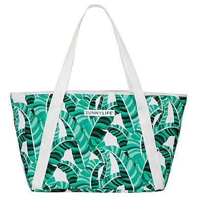 Sunnylife Banana Palm Print Cooler Tote Bag
