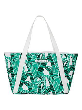 Sunnylife Banana Palm Print Cooler Tote Bag 84c291e90817a