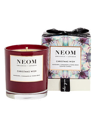 Buy Neom Christmas Wish Scented Candle, 185g Online at johnlewis.com