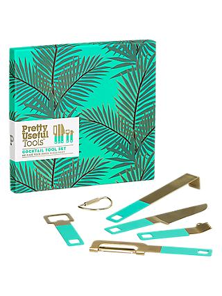 Pretty Useful Tools Cocktail Tool Set, Tropical Topaz
