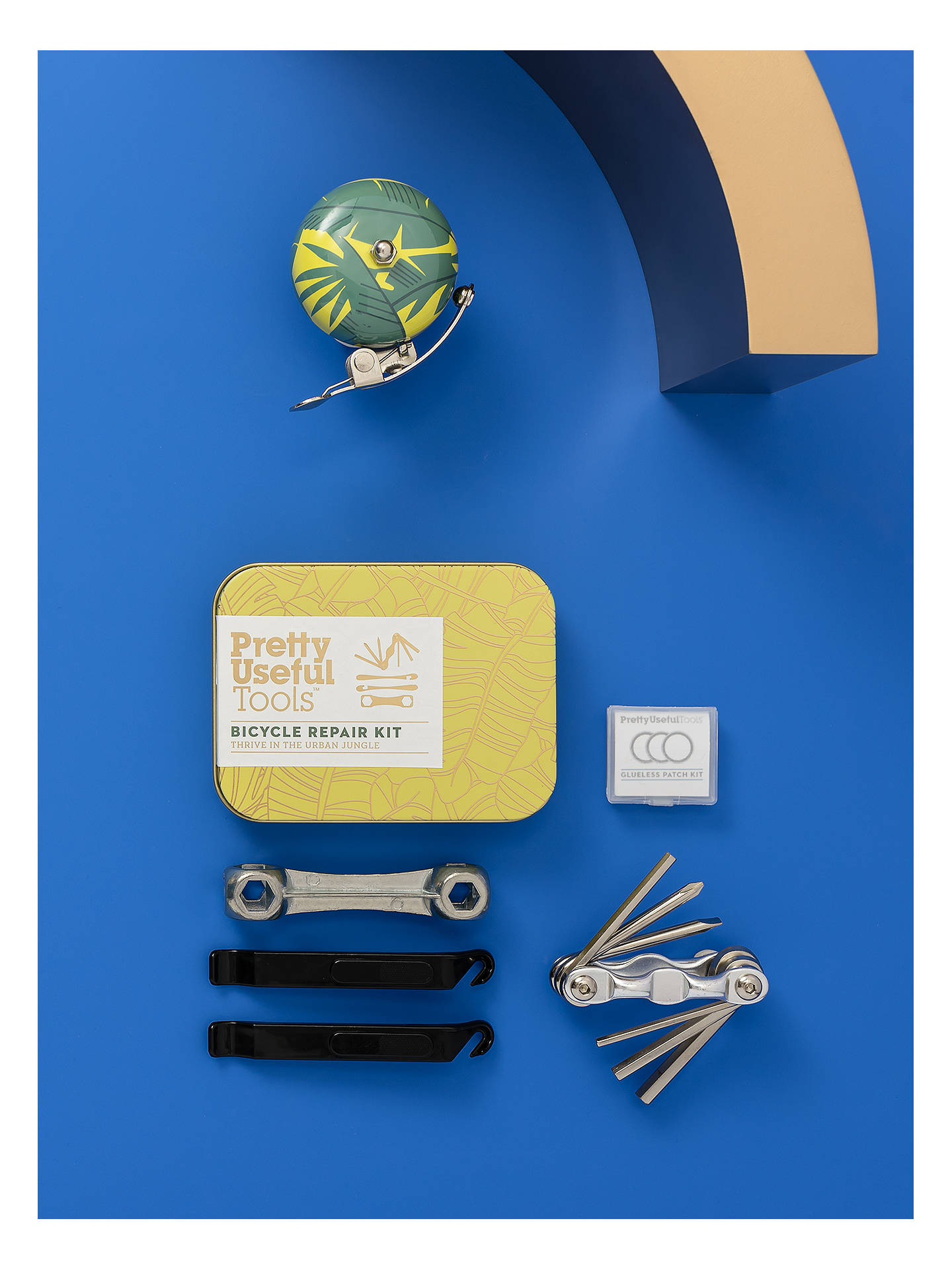 BuyPretty Useful Tools Bicycle Repair Kit, Sunrise Yellow Online at johnlewis.com