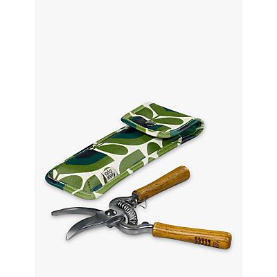 Orla Kiely Pruners in Pouch, Green/Multi