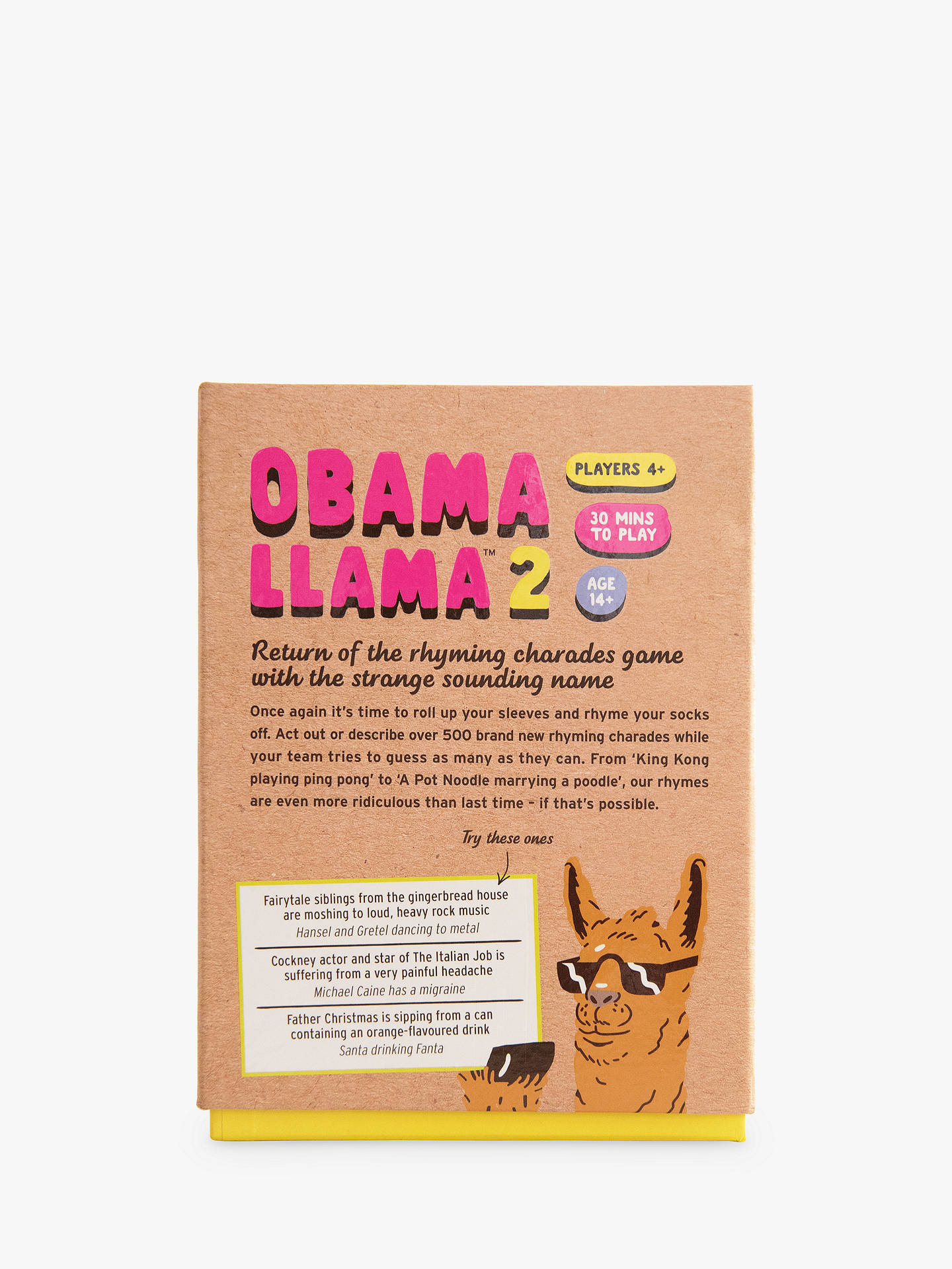 Buy Big Potato Obama Llama 2 Game Online at johnlewis.com