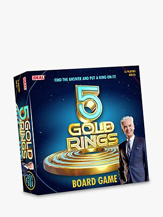 John Adams 5 Gold Rings Board Game